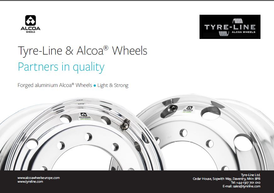 Tyre-Line Alcoa co-brochure