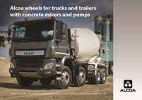 Alcoa® Wheels for concrete mixers & pumps