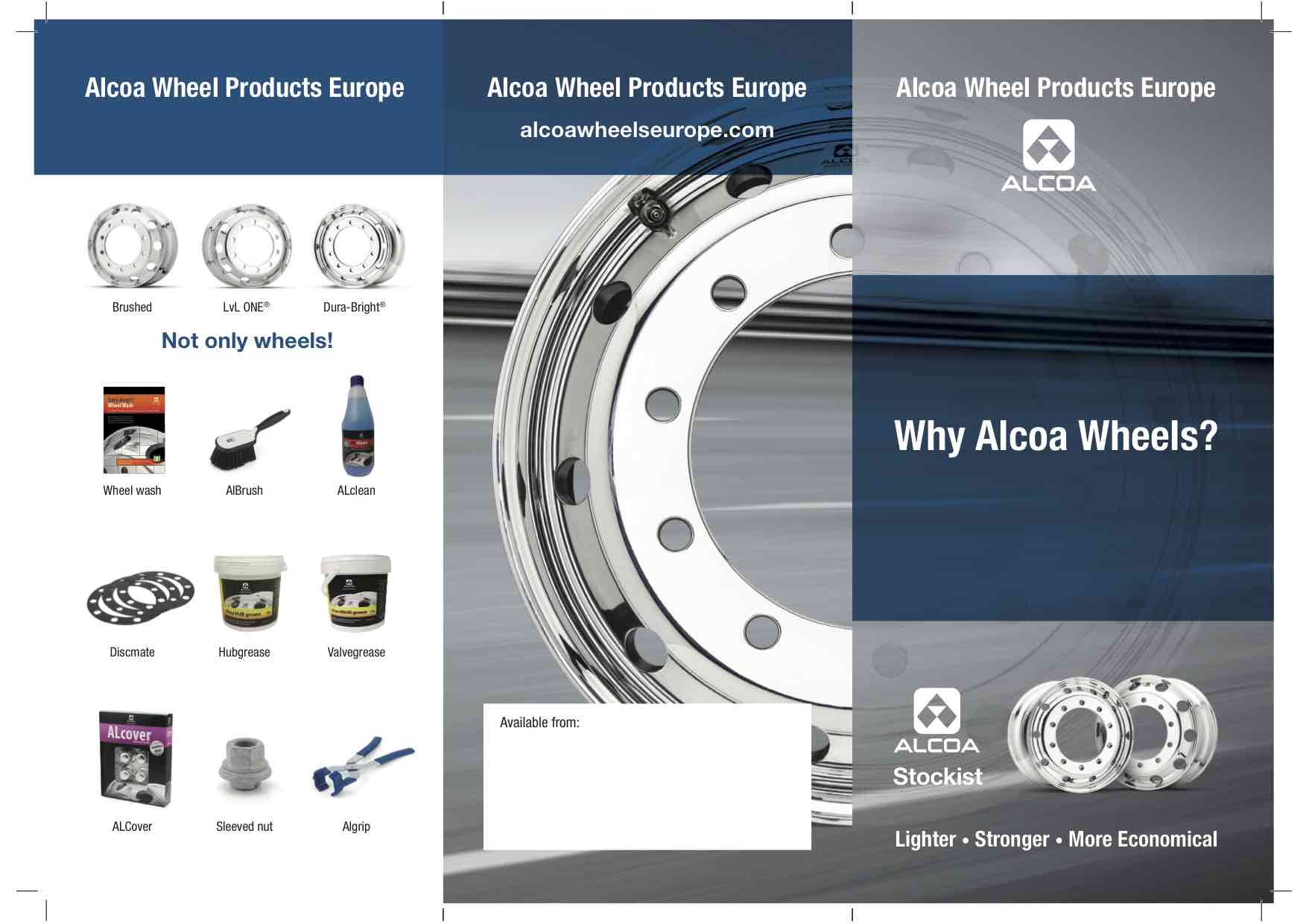 Why Alcoa® Wheels? Truck