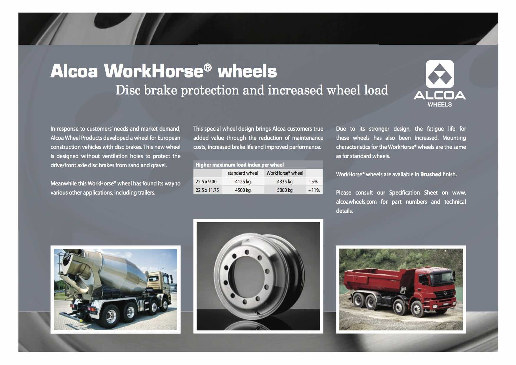 Alcoa® Wheels Workhorse